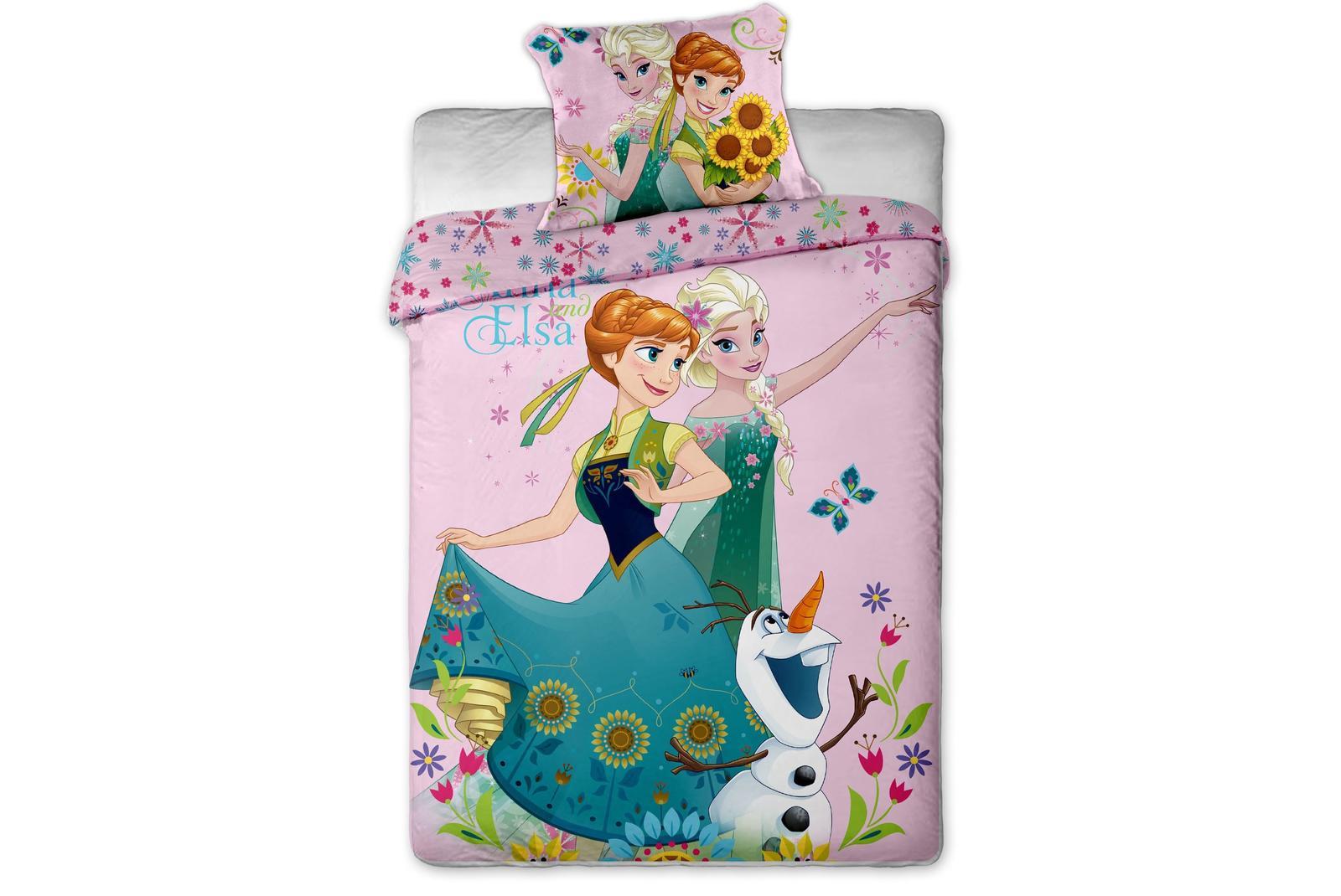Aby Vaše děti usínaly se svými hrdiny - Bavlněné povlečení Frozen