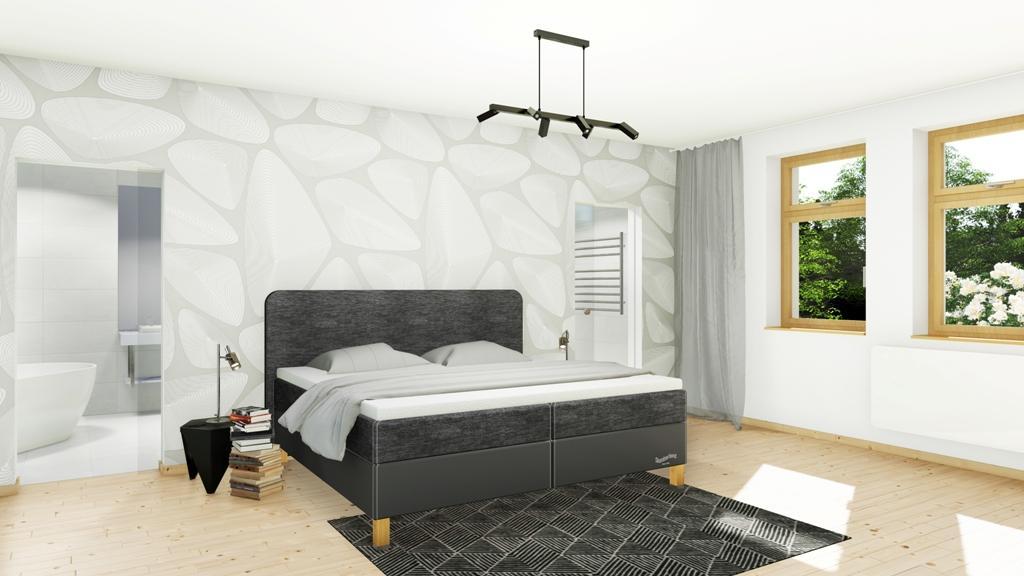 Království postelí - Čalouněná postel Bedford