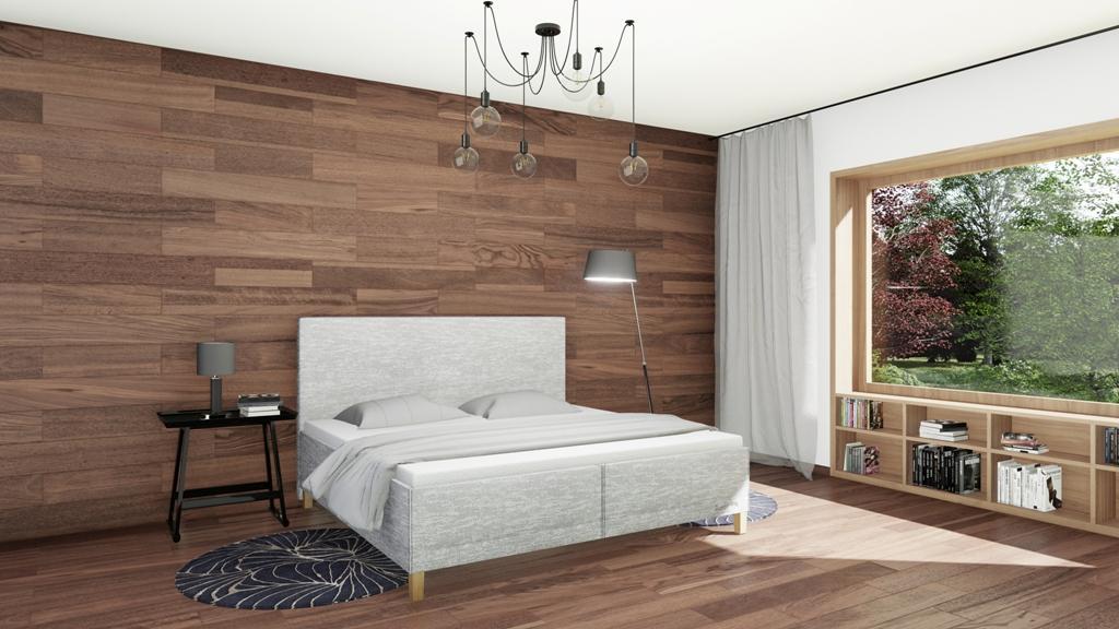 Království postelí - Čalouněná postel Bristol