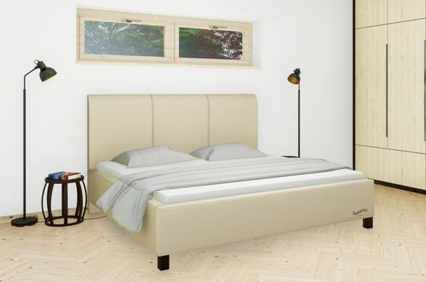 Království postelí - Čalouněná postel Dover