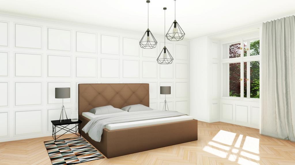 Království postelí - Čalouněná postel Oxford mistral