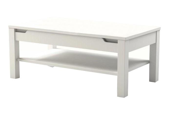 Konferenční stolky - Konferenční stolek Adonis bílý