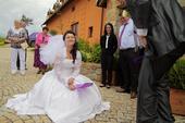 Svatební šaty, velikost 38-40, 40