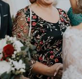 šaty,svadobná mamina, 44