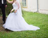 Nádherné Svadobné šaty vel. 40-44, 42