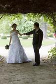 značkové svatební šaty, 36