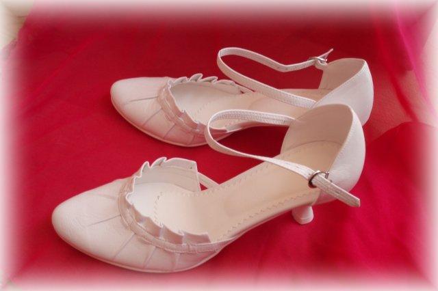 Bílo-Žůžová - moje úžasné botičky - vydržely!