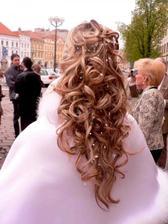 Svatební účes XVI.