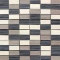 Názov: Seta nero, grigio, crema s mozaikou od Arte Casa
