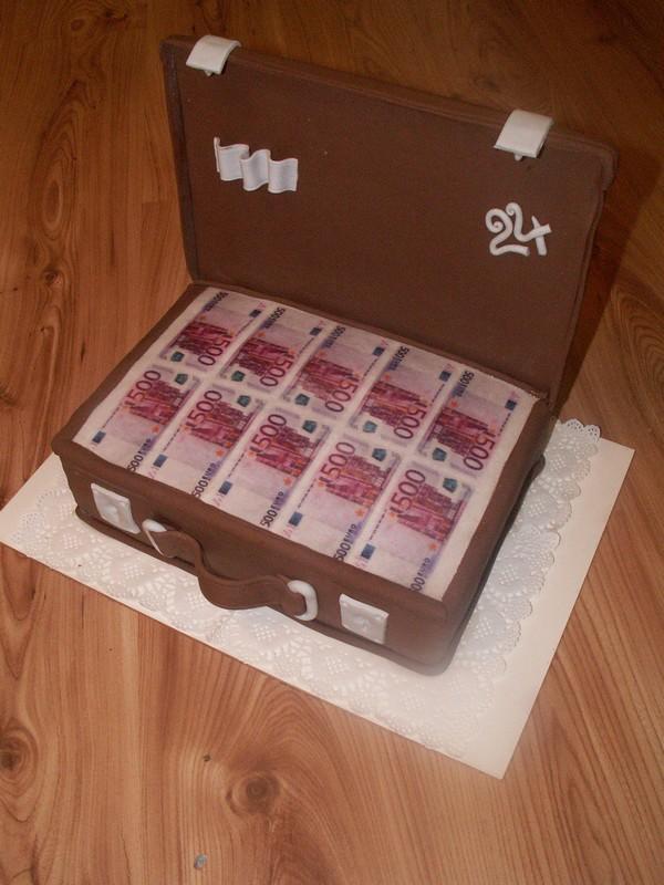 Ako originálne darovať peniaze či žreby + originálne darčeky - Toto je síce torta, ale viem si to predstaviť aj reálne...