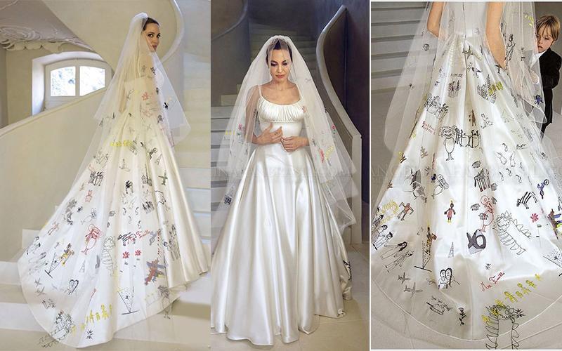 Šaty.....Zaujímavé, originálne, či extravagantné? - Angelina Jolie....mala velmi krásne (osobné) šaty, hlavne ten nápad je úžasný a jedinečný! 😉