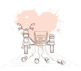 Svadba v štýle motoriek - Obrázok č. 15