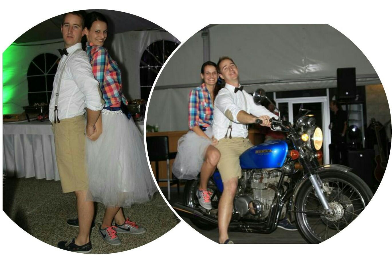 Svadba v štýle motoriek - Tiež nevesta odtiaľto @vodavodickova ..... jednoducho nádhera!