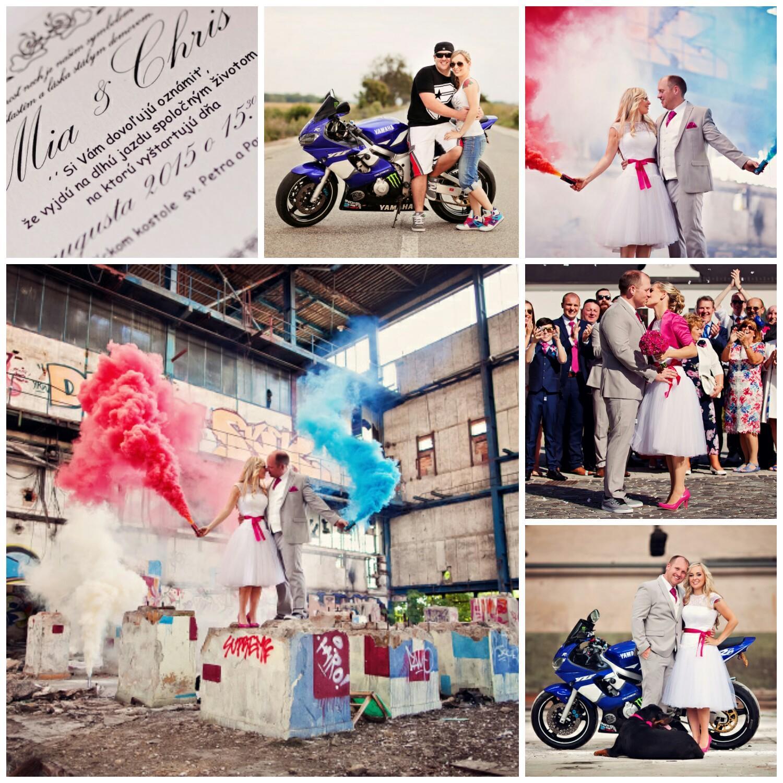 Svadba v štýle motoriek - Obrázok č. 120
