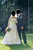 Svatební šaty s rukávy , 38