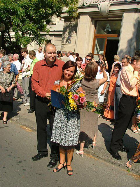 8. 9. 2007 Mája a Romik - :)