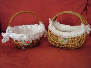 krásné košíčky pro družičky :)