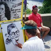 pouliční karikaturista