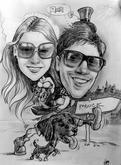 hobby karikatura jako svatební dar
