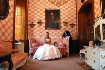 foto v zámku