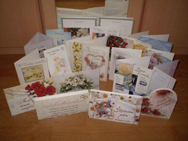 Natalka{{_AND_}}Maťko - gratulácie ktoré prišli poštou dokonca aj z dalekej Kanady a Švajčiarska