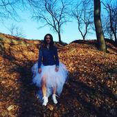 Tylová sukně , 38