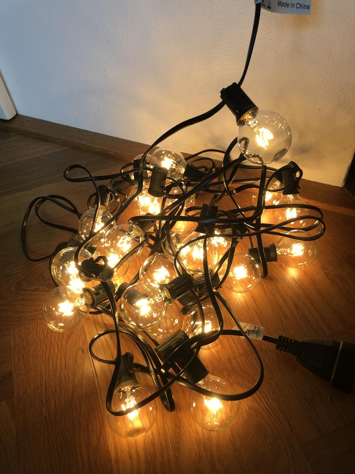 Světelné řetězy 25 žárovek - Obrázek č. 1