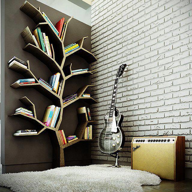Zamilovala som sa. Už len zrealizovať, dlho som hľadala akú knižnicu dáme a toto je ono! :) - Obrázok č. 1