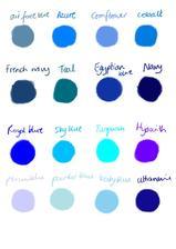 50 odstínů modré