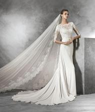Svatební šaty - jiné než původní představy, půjčené a naprosto úžasné.