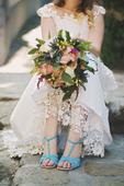 Originálné svadobné šaty, 36