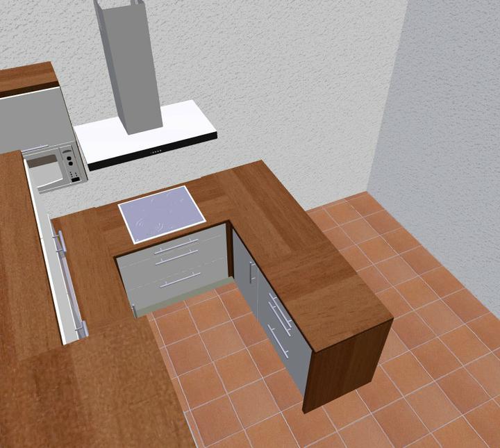 Rd - jen návrhy - deska bude tmavší, podlaha se vůbec neshoduje a chybí zde francouzké okno