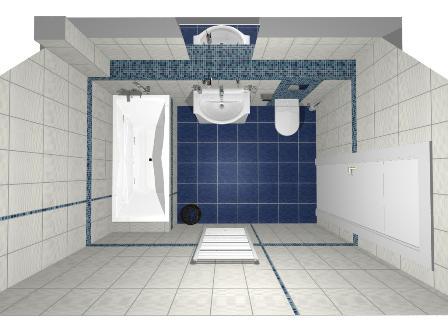 Rd - koupelna horní