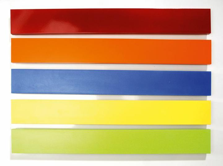 U skřínky lze vybírat z těchto barevných lišt