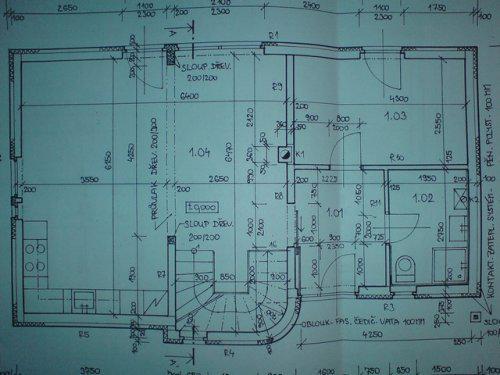 Jaro 2008 jen plány Přízemí