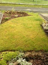 9.6.2012 vyznačeno, kde se bude odebírat travní drn a upravovat záho původní