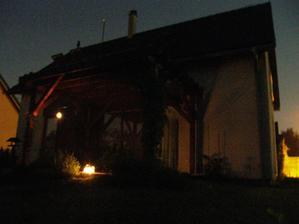 první letní večerní posezení 21.6.
