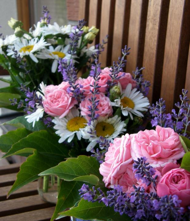 Dekorace z květin Pro radost - z alba 2014