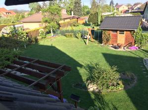 Zahrada ráno