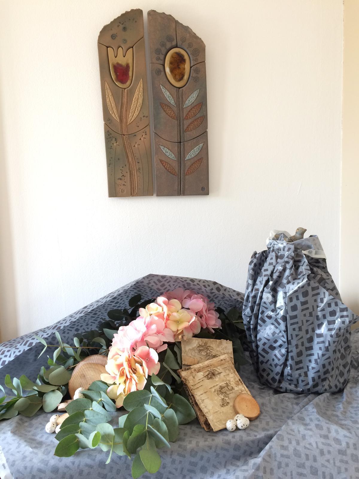 Dekorace z květin Pro radost - ... a to jsem se šla jenom mrknout do květinářství, které zavírá a má výprodej ...