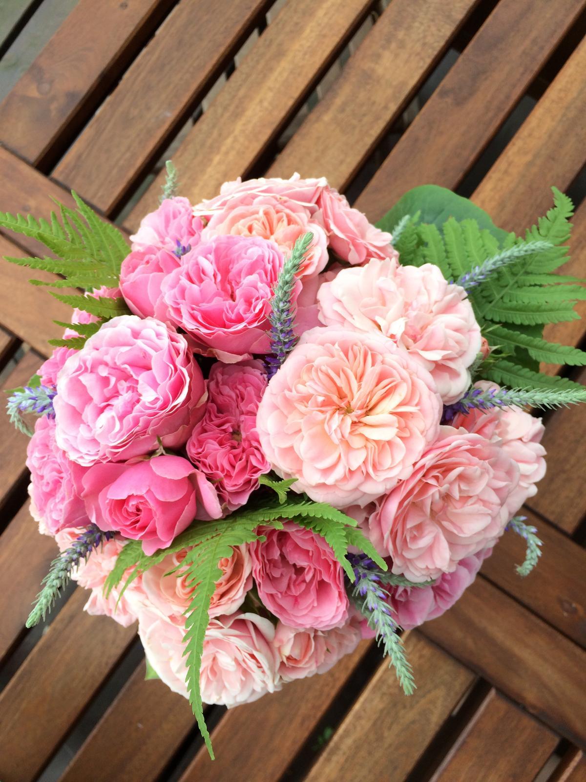 Dekorace z květin Pro radost - Obrázek č. 131