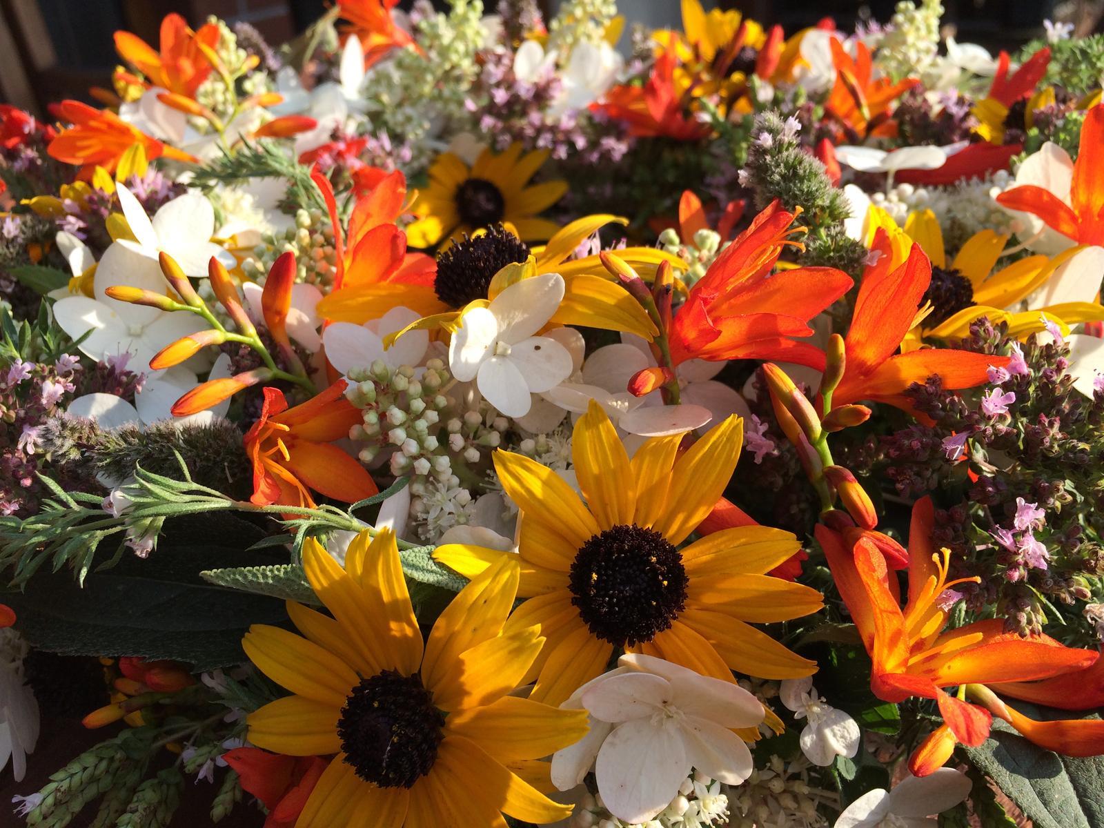 Dekorace z květin Pro radost - Obrázek č. 149