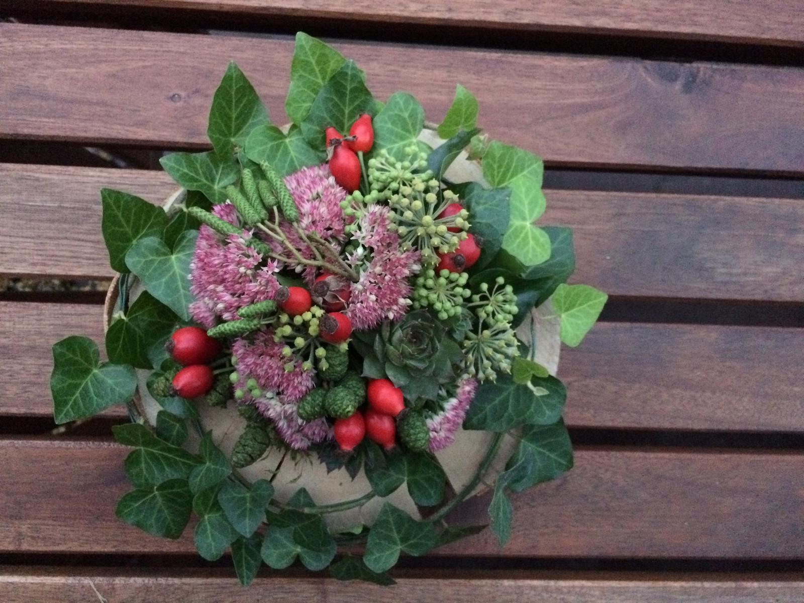 Dekorace z květin Pro radost - Obrázek č. 166