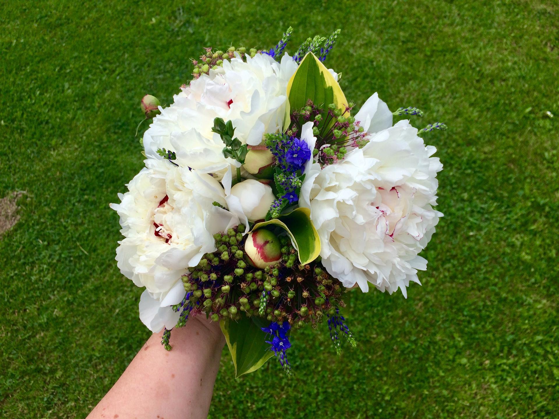 Dekorace z květin Pro radost - Jedna menší