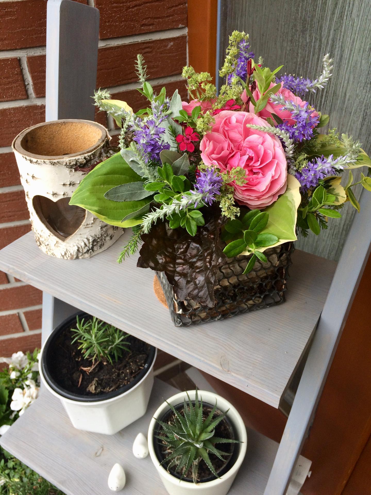 Dekorace z květin Pro radost - Obrázek č. 198