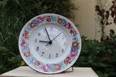 hodiny - priemer 24cm, cena 21€