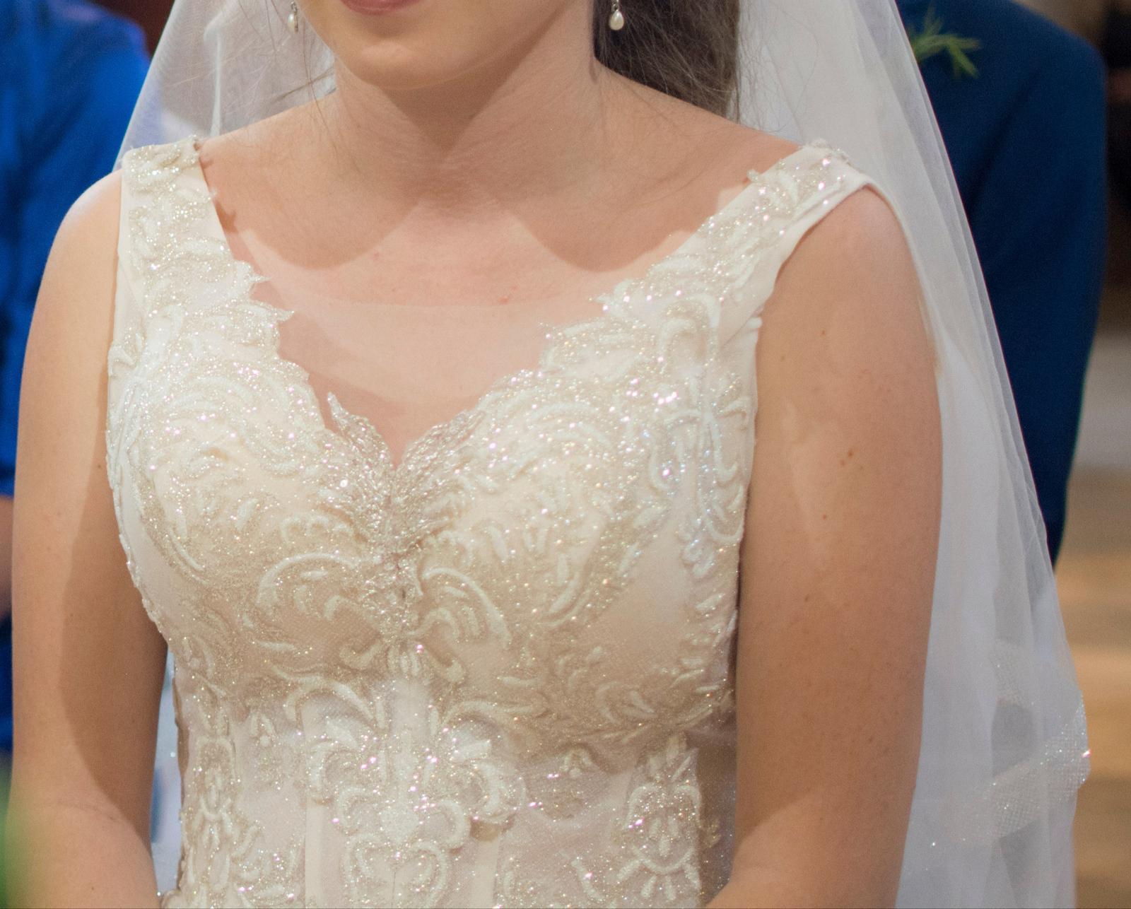 Svadobné šaty + ZADARMO DOPLNKY - Obrázok č. 2