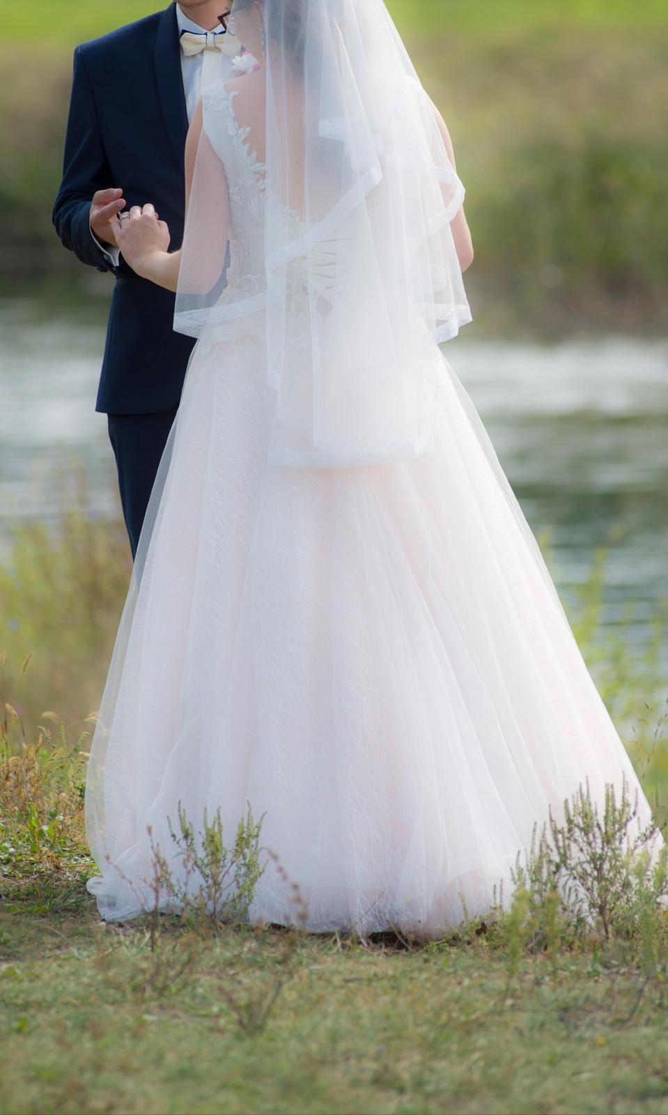 Svadobné šaty + ZADARMO DOPLNKY - Obrázok č. 3