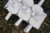 Svatební kolíčky s perličkami, 12ks,