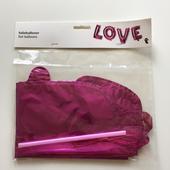 Nafukovací nápis LOVE (neonově růžový),
